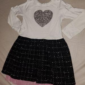 Girl's Long Sleeve Dress